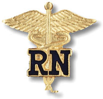 Rn Pin (Caduceus)